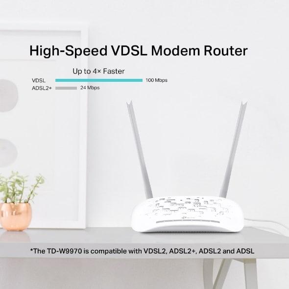 مودم روتر  VDSL/ADSL مدل TP-Link TD-W9970